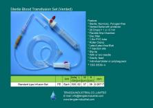 Blood Transfusion Set (Vented)