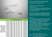 preformed (oral) endotracheal tube
